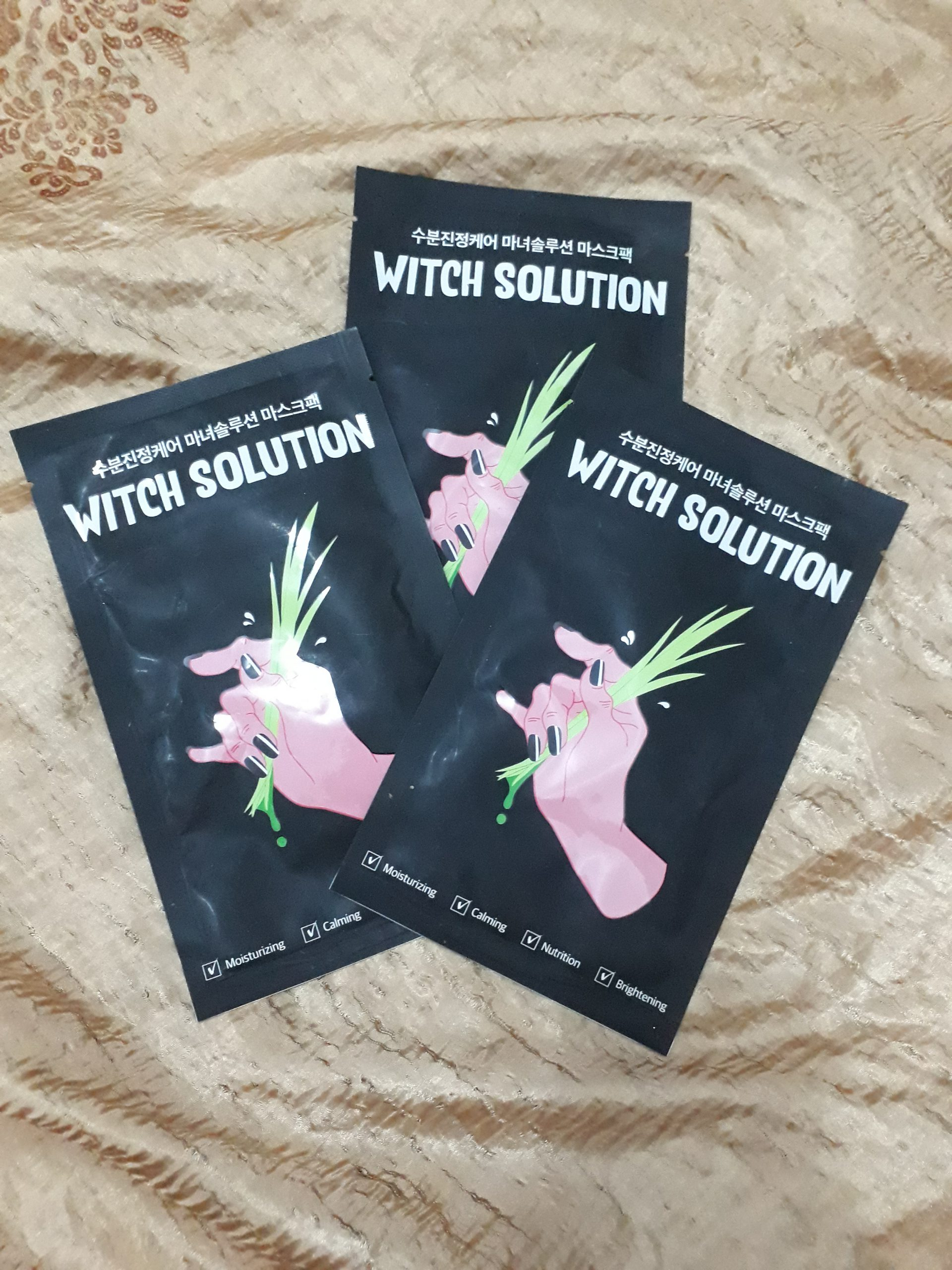 Which solution